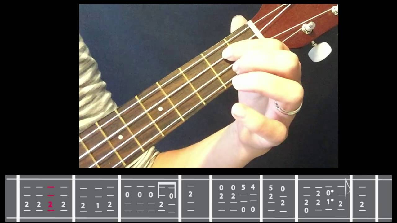 Onward Christian Soldier Transcribed Tabs For The Ukulele Youtube