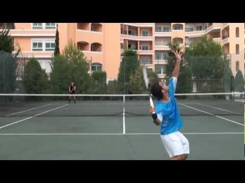 Daniel Faria Tennis College Recruiting Video 2013