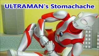 ULTRAMAN ACT KIDS TOY    If Ultraman got a stomach hurting in the middle of a marathon  BANDAI