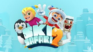 Ski Safari 2: Ride in Santa's Sleigh in North Pole!