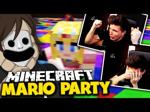 NO LOOK WÜRFEL-PRO! & SPANNENDES FINALE! ✪ Minecraft Mario Party mit Germanletsplay