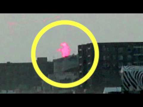 GODZILLA Fluorescent REAL Giant Monster Caught On Tape!