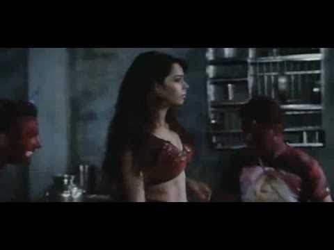 mallika s conversion to snake and violent scene from hiss