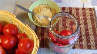 128.Мой неудачный опыт хранения чеснока и помидор в горчице