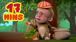 Chor Ke Peeche Bandar Mama | Hindi Rhymes Collection for Children | Infobells