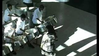 Steel drums in Trinidad & Tobago
