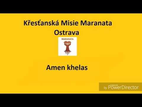 Křestanská Misie Maranata Ostrava Amen khelas