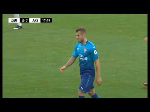 Jack Wilshere Arsenal U23 vs Derby County U23 (Away) 2017-18 HD 720p