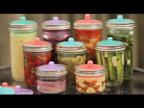 Pickle Pipes - The Easiest Fermentation Airlocks for Mason Jars