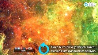 Akrep burcunu ve yükseleni Akrep olanları Ekim ayında neler bekliyor? | onbi.tv