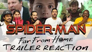SPIDER-MAN: FAR FROM HOME - Official Trailer - Group Reaction