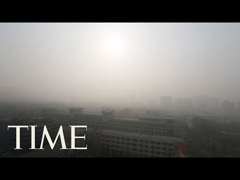 Beijing's Apocalyptic Air Pollution 'Red Alert' | TIME