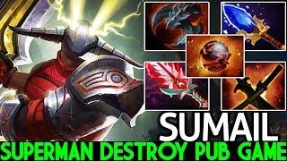 SUMAIL [Sven] Superman Destroying Pub Game Unkillable Boss 7.23 Dota 2