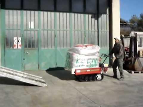 Motocarriola cingolata gior 1000 kg honda nuova da for Grillo 507 usato