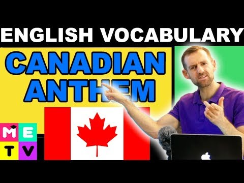English Lesson | Canadian Anthem Changed??