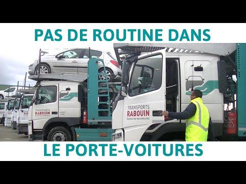 Parole de conducteur de porte-voitures - TransportsRabouin
