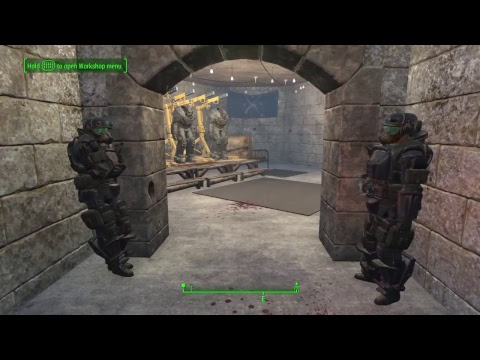 Fallout 4 The Castle P1 General's Room