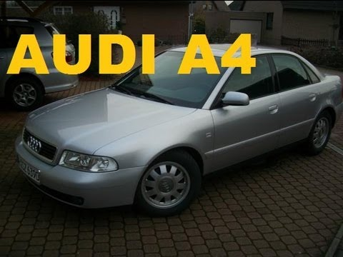 Auto Test Hannover Audi A4 1,8 Liter 125 PS  Kickdown