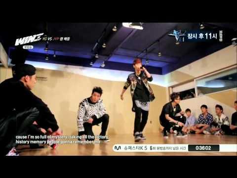 130913 JYP Rap Team (Mark, Young Hyun(영현), Jackson) - Drop It Like It's Hot @ WIN