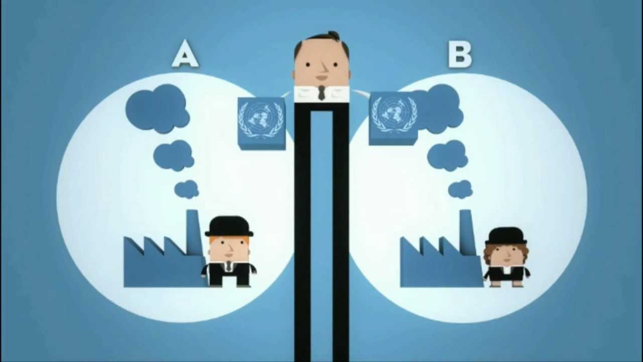 How does the emission trading scheme work? - YouTube