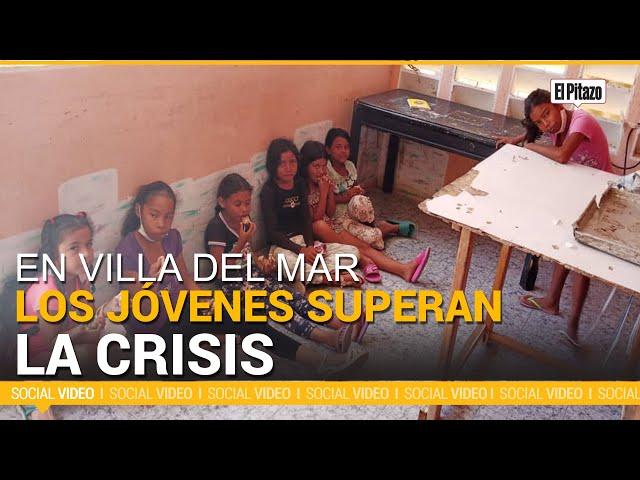 Jóvenes de Villa del Mar aprenden nuevos oficios en medio de la crisis