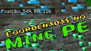 Como fazer as coordenadas aparecerem no Minecraft PE!!! Minecraft Pocket Edition
