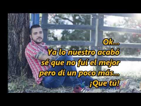 OK  Jessi Uribe  (LETRA)