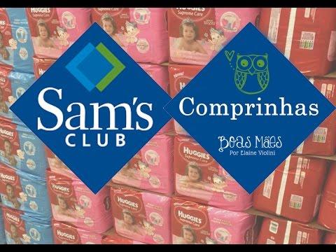 Sam's Club - O QUE EU COMPRO -  Por Elaine Violini