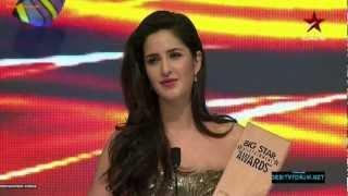 Katrina Kaif Won Best Actress In An Action Movie At Big Star Entertainment Awards 2012