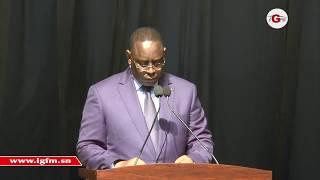 Le discours de Macky Sall aux sapeurs-pompiers