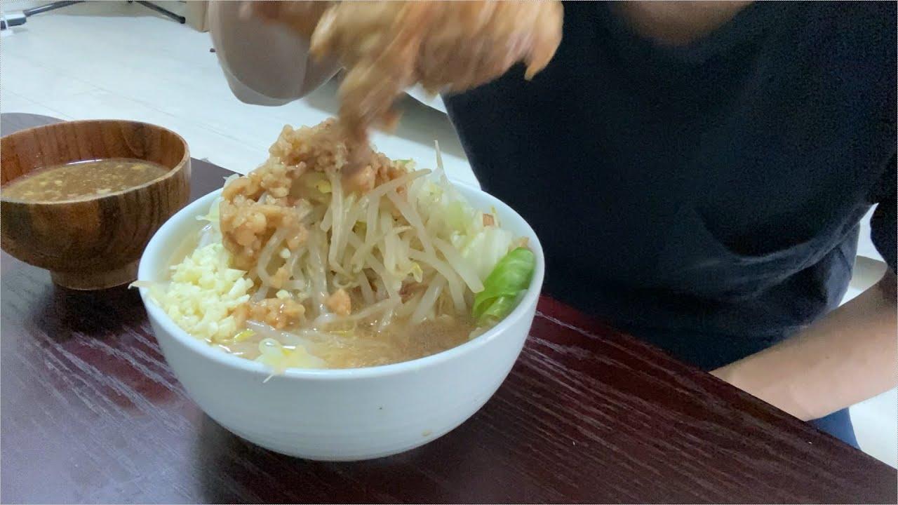 【宅麺】二郎系ラーメンを通販サイトで購入して食べてみた【社会人の日常】