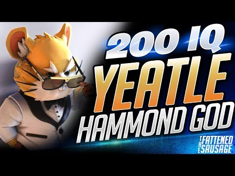 Yeatle The 200 IQ Hammond GOD | Overwatch