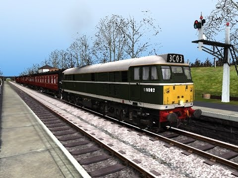 Railworks 2014 - Class 31 BR Green Livery #D5502 |