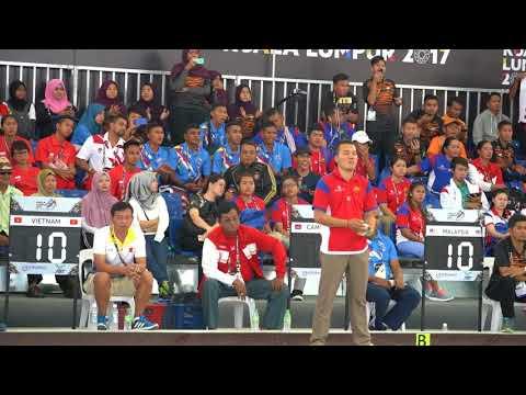 29th SEA Games 2017 Petanque Single Men Women Semi Final