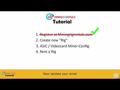 MiningRigRentals All-In-One | Tutorial | Config / Mining / Renting
