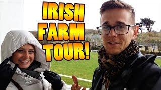 OUR IRELAND FARM TOUR! - Travel VLOG 88 [IRELAND]