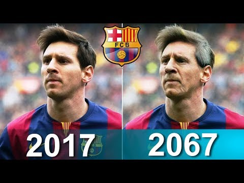 Barcelona Players after 50 Years ft. Messi, Suarez, Dembele, Iniesta...