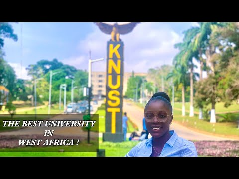 THE BEST UNIVERSITY IN WEST AFRICA   The beautiful KNUST campus