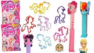 MLP Iconi Clips Complete Set , My Little Pony Blind Bag Surprises , Disney Frozen PEZ Candy