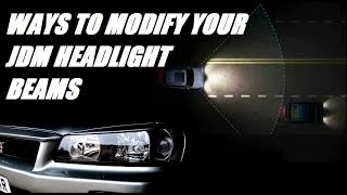 Ways to modify your rhd headlights when importing a JDM car