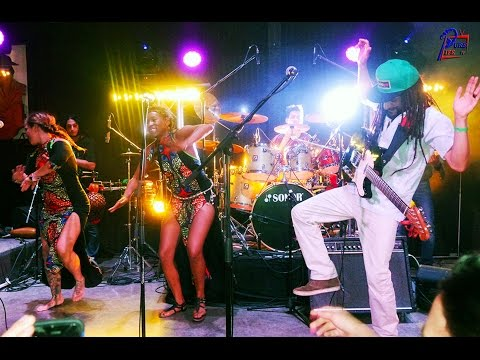 "Un Rojo Reggae Band Live ""Reborn"" Album Debut, Jazz Cafe Costa Rica"