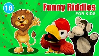 Funny jokes and riddles for kids | FluffPuff Puppets Kids Show episode #18
