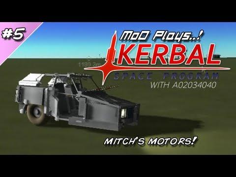 Kerbal Space Program - part 5: Mitch's Motors! [MoD Plays ...