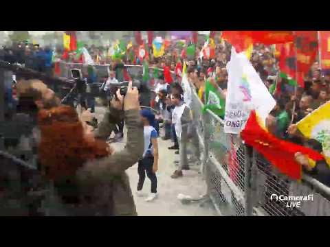 İstanbul Kartal'da Newroz kutlaması