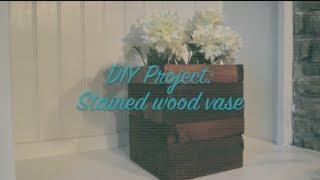 Diy | Scrap Wood Vase