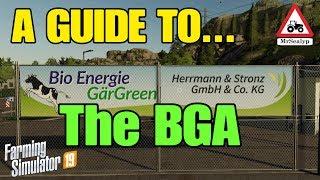 A Guide to... The BGA (Biogas plant). Farming Simulator 19, PS4. Assistance!
