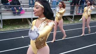 southern university dolls marching in 2014 wm botb