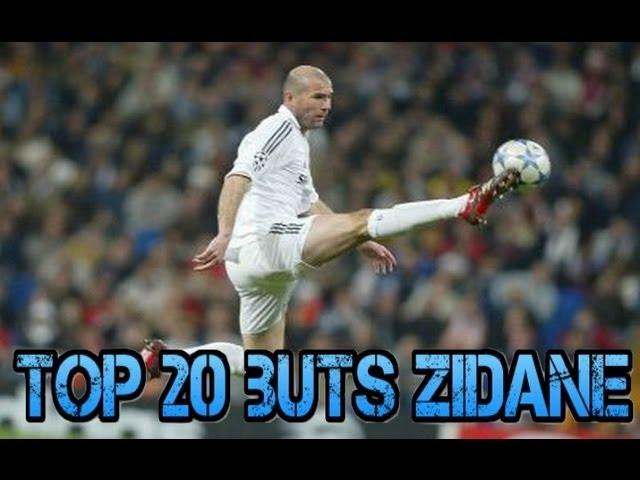 Top 20 des plus beaux buts de Zinedine Zidane !