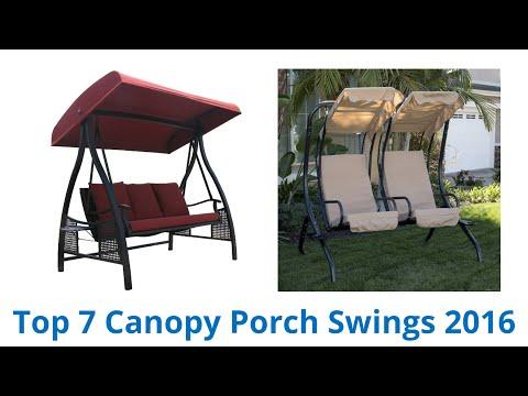 7 Best Canopy Porch Swings 2016