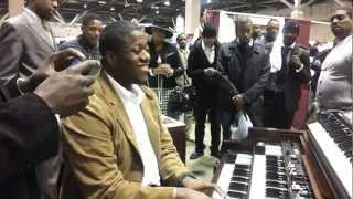 Pastor David Wright On The Organ